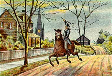 Ride of Paul Revere